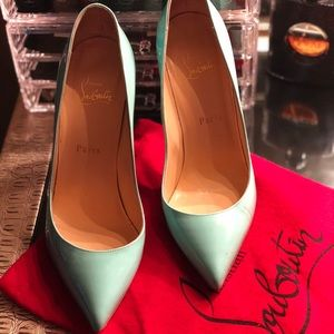 Authentic Christian Louboutin Pigalle 100 pumps